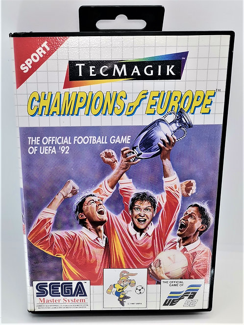 Champions of Europe for Sega Master System