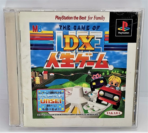 DX Jinsei Game - The Game of Life for Sony PlayStation PS1