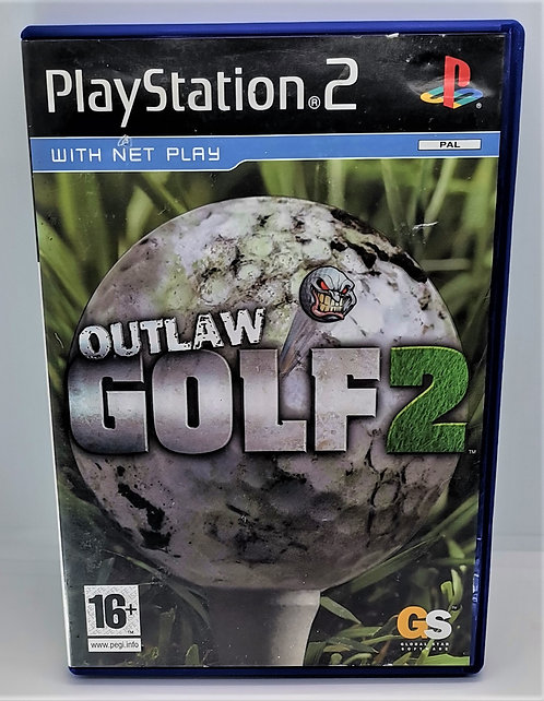 Outlaw Golf 2 for Sony PlayStation 2 PS2