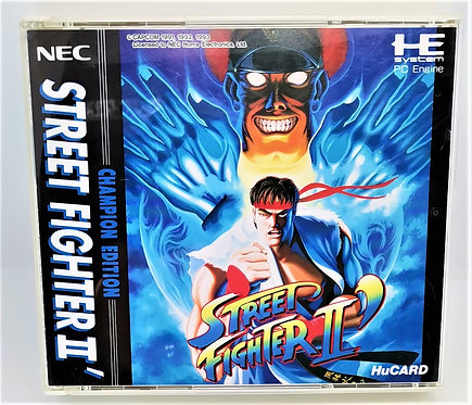 Street Fighter II: Champion Edition for PC Engine