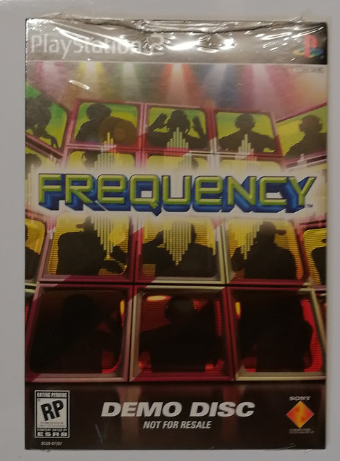 Frequency Demo for Sony PlayStation 2
