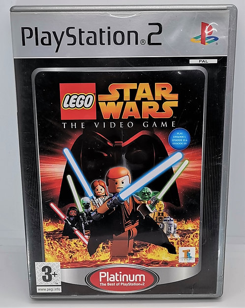 Lego Star Wars: The Video Game for Sony PlayStation 2 PS2
