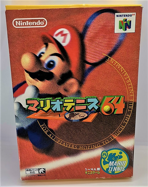 Mario Tennis 64 for Nintendo N64