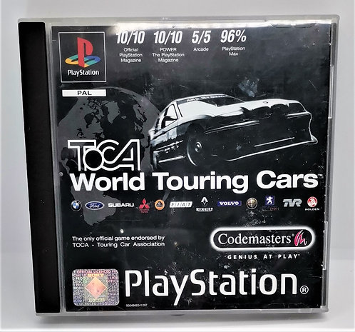 TOCA: World Touring Cars for Sony PlayStation PS1
