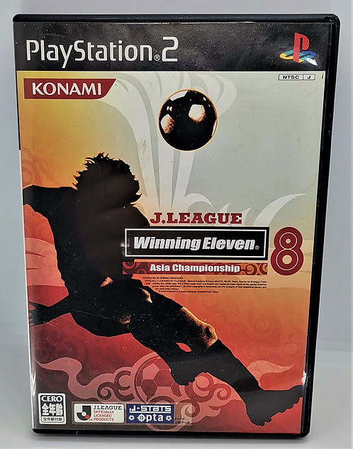 J-League Winning Eleven 8 Asian Championship for Sony PlayStation 2 PS2