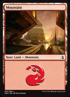 MAGIC THE GATHERING AMONKHET Single Card - 265/287 : Mountain