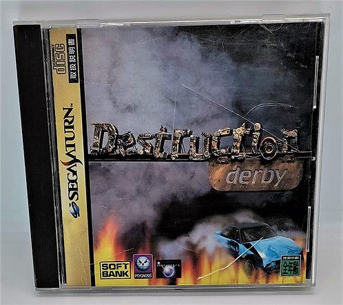 Destruction Derby for Sega Saturn