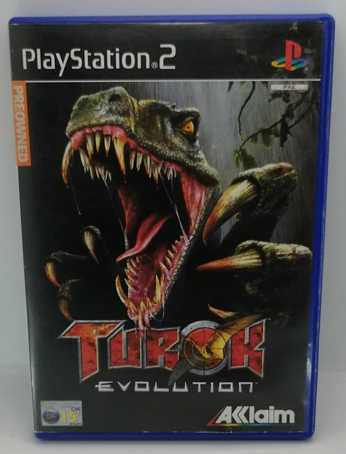Turok: Evolution for Sony PlayStation 2 PS2