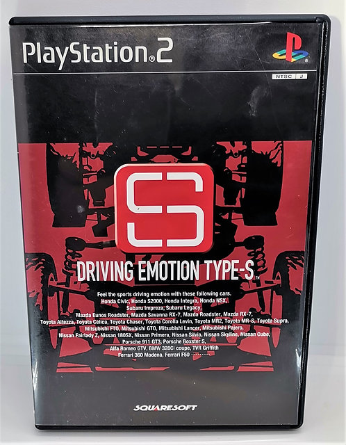 Driving Emotion Type-S for Sony PlayStation 2 PS2