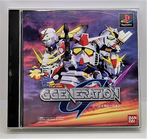SD Gundam G Generation for Sony PlayStation PS1