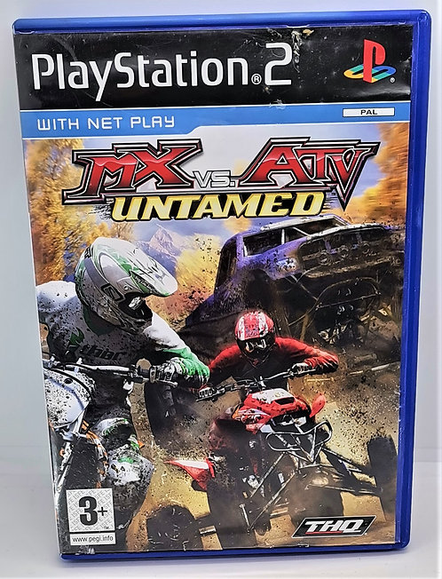 MX vs. ATV: Untamed for Sony PlayStation 2 PS2