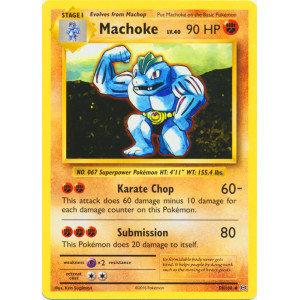 Pokemon Single Card XY - EVOLUTIONS - 058/108 : Machoke