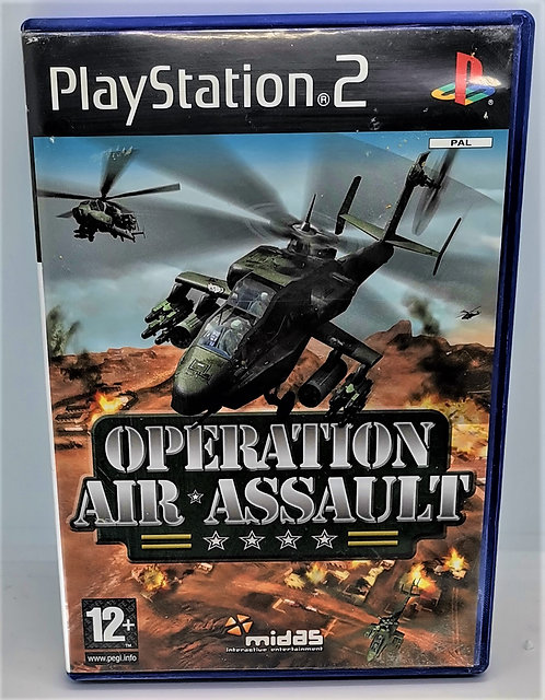 Operation Air Assault for Sony PlayStation 2 PS2