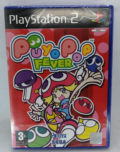 Puyo Pop Fever for Sony PlayStation 2 PS2