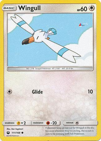 POKEMON Single Card SUN AND MOON - CELESTIAL STORM - 111/168 : Wingull