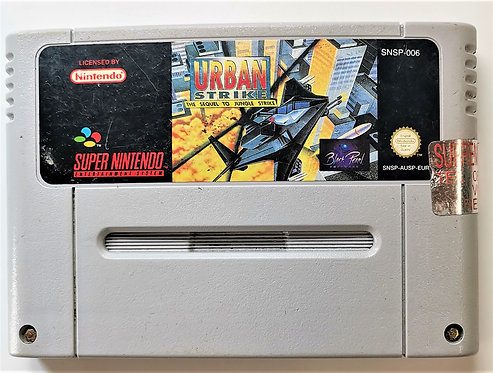 Urban Strike for Super Nintendo SNES