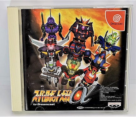 Super Robot Wars Alpha for Sega Dreamcast