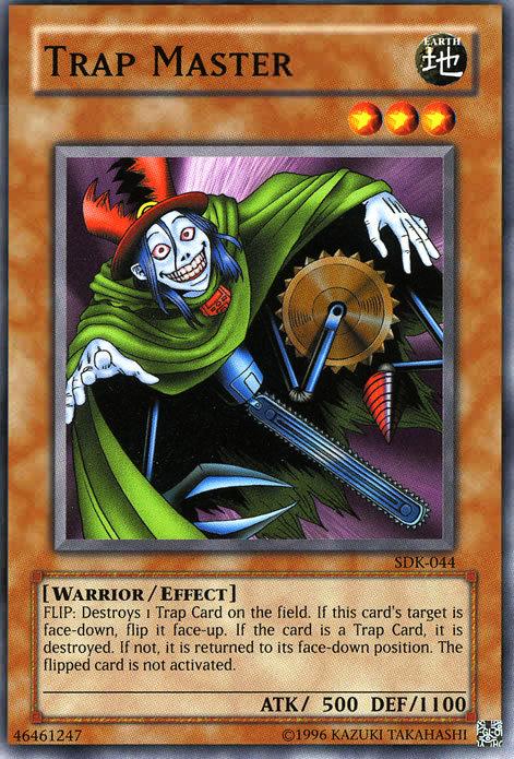 Yu-Gi-Oh! Card SKE-018 Trap Master