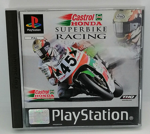 Castrol Honda Superbike Racing for Sony PlayStation PS1
