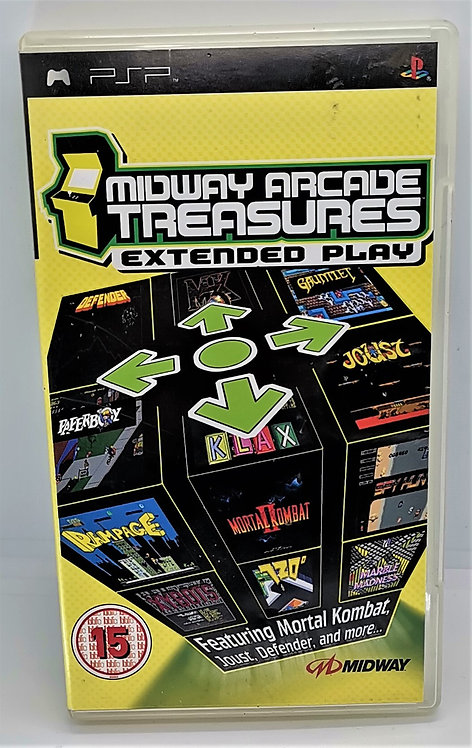 Midway Arcade Treasures: Extended Play for Sony PlayStation Portable PSP