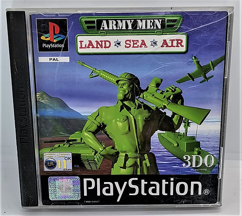 Army Men: Land, Sea, Air for Sony PlayStation PS1