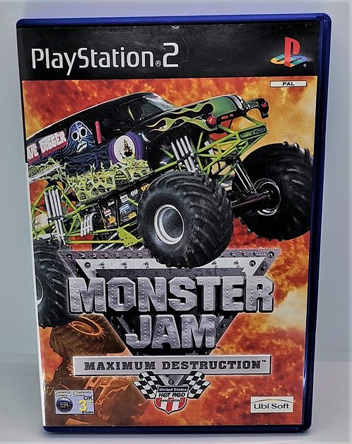 Monster Jam: Maximum Destruction for Sony PlayStation 2 PS2