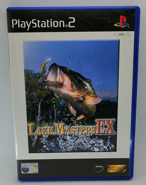 Lake Masters EX for Sony PlayStation 2 PS2