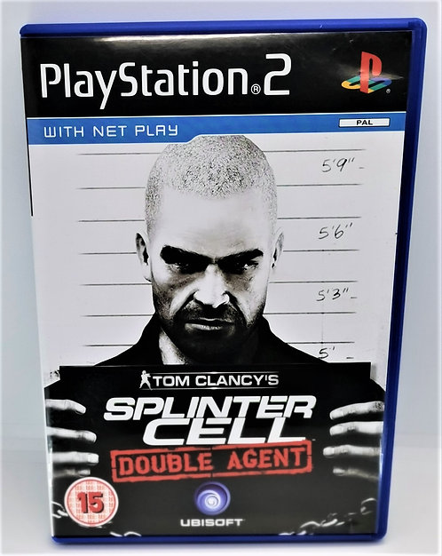 Tom Clancy's Splinter Cell: Double Agent for Sony PlayStation 2 PS2