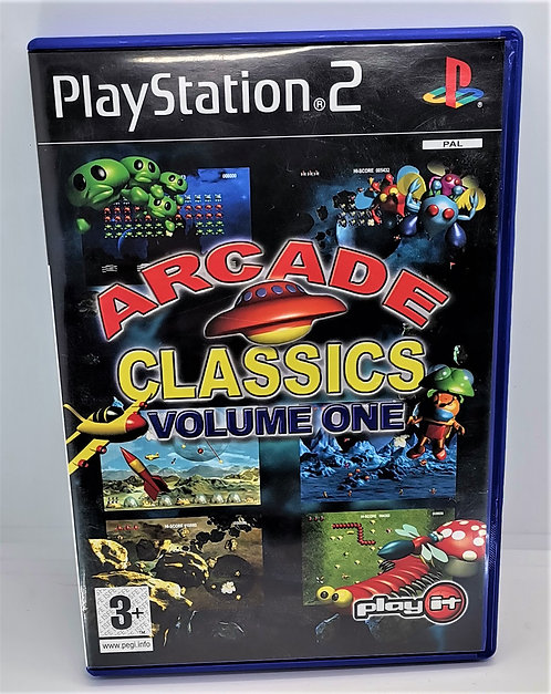 Arcade Classics Volume One for Sony PlayStation 2 PS2