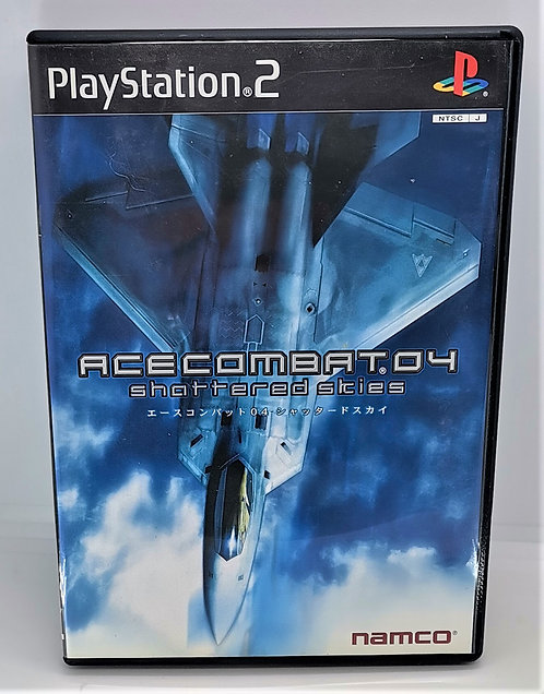Ace Combat 04: Shattered Skies for Sony PlayStation 2 PS2