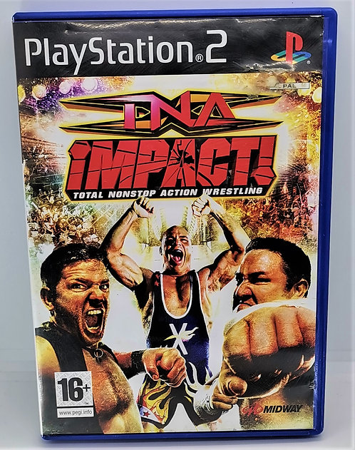 TNA Impact! for Sony PlayStation 2 PS2