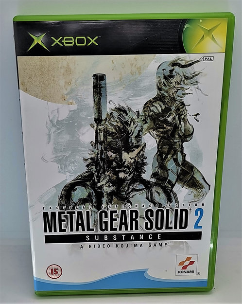 Metal Gear Solid 2: Substance for Microsoft Xbox