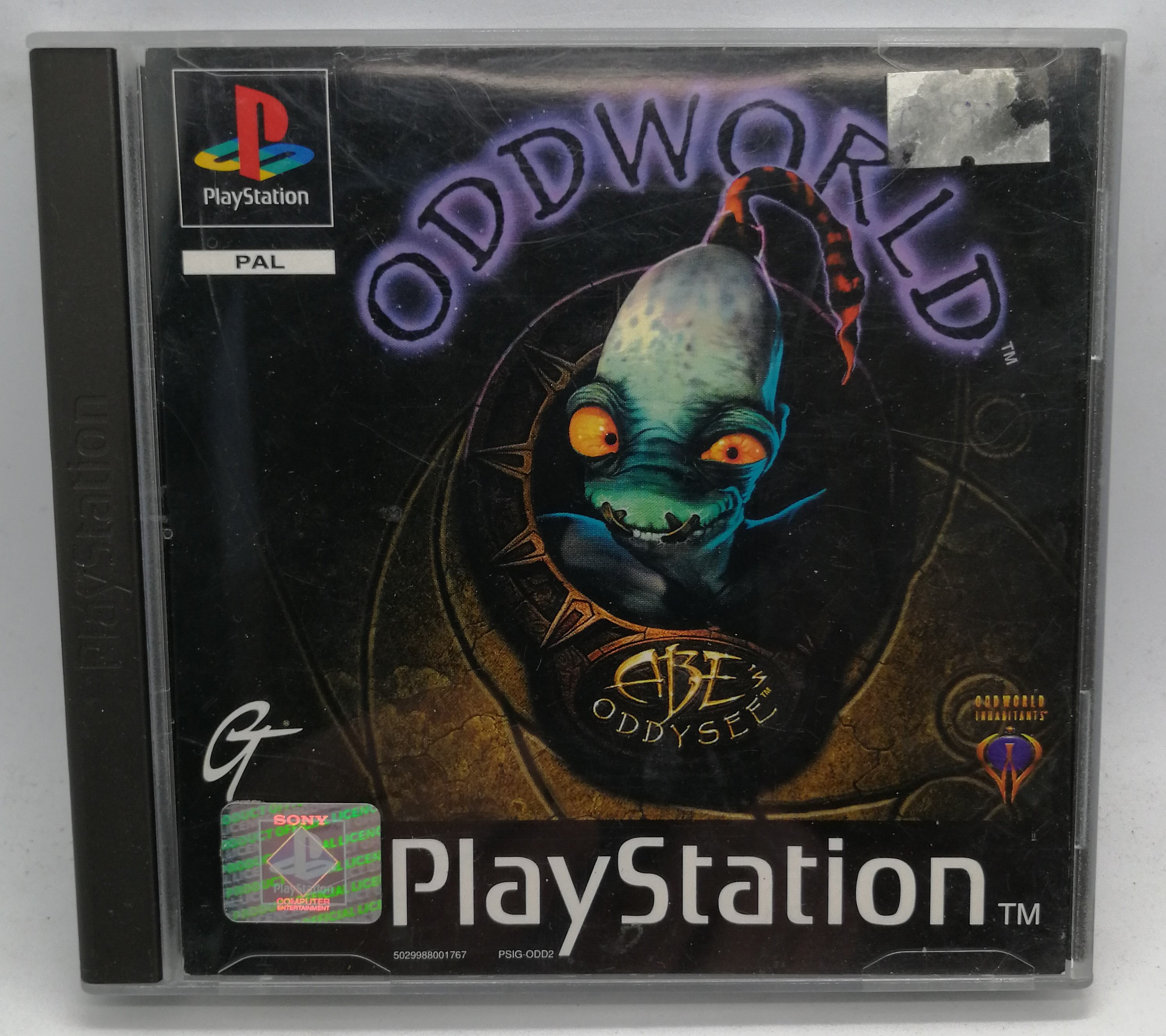 Oddworld: Abe's Oddysee for Sony PlayStation PS1