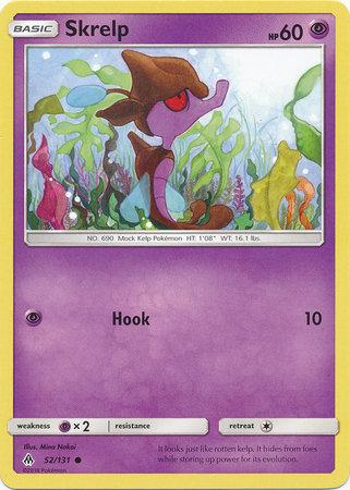 POKEMON Single Card SM - FORBIDDEN LIGHT - 052/131 : Skrelp