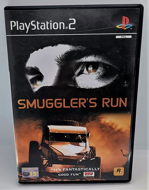 Smuggler's Run for Sony PlayStation 2 PS2