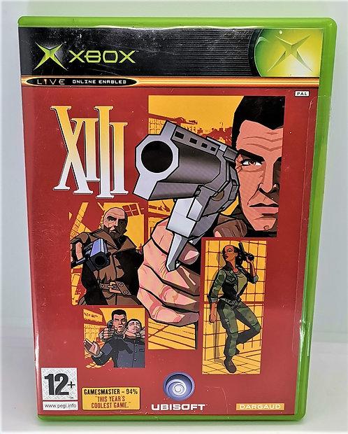 XIII for Microsoft Xbox