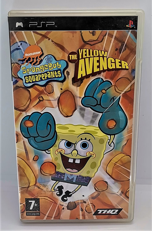 SpongeBob SquarePants: The Yellow Avenger for Sony PlayStation Portable PSP