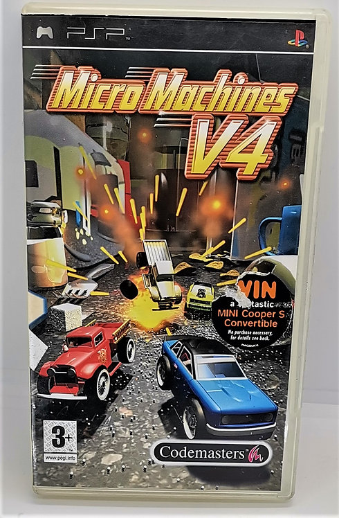 Micro Machines V4 for Sony PlayStation Portable PSP