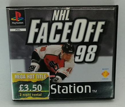 NHL FaceOff '98 (Rental Version) for Sony PlayStation PS1