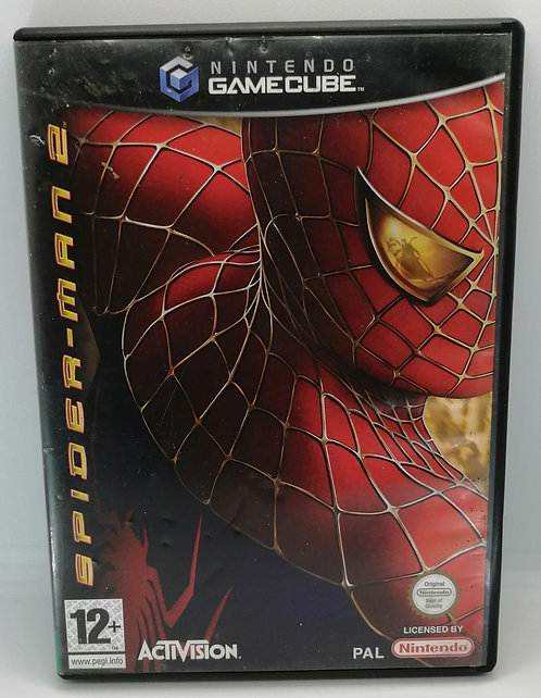 Spider-Man 2 for Nintendo GameCube