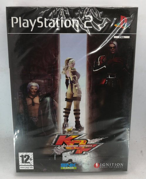 The King of Fighters: Maximum Impact for Sony PlayStation 2 PS2