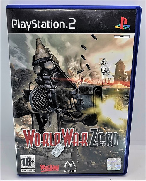 World War Zero for Sony PlayStation 2 PS2