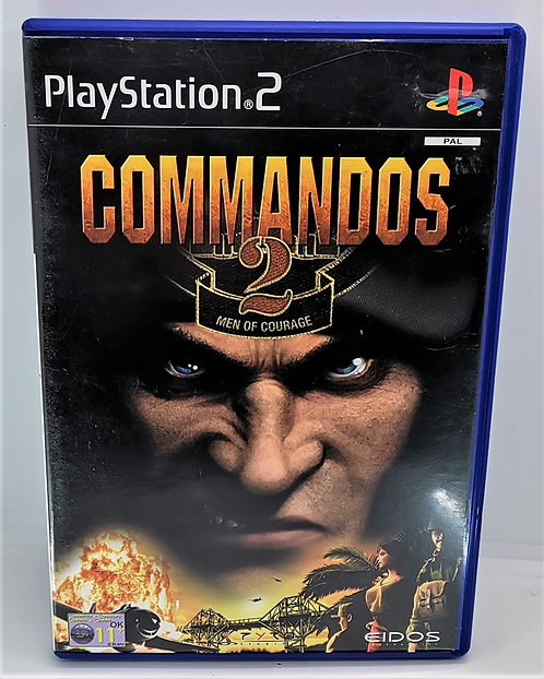 Commandos 2: Men of Courage for Sony PlayStation 2 PS2