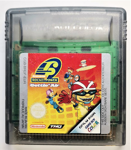 Rocket Power: Gettin' Air for Nintendo Game Boy Color