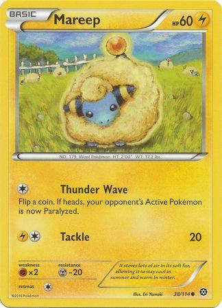 Pokemon Single Card XY - STEAM SIEGE - 038/114 : Mareep