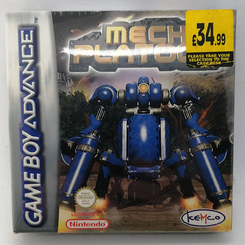 Mech Platoon for Nintendo Game Boy Advance
