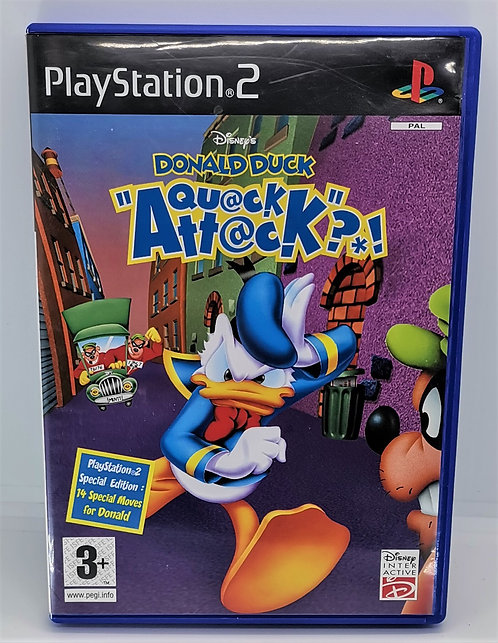 Donald Duck: Quack Attack for Sony PlayStation 2 PS2