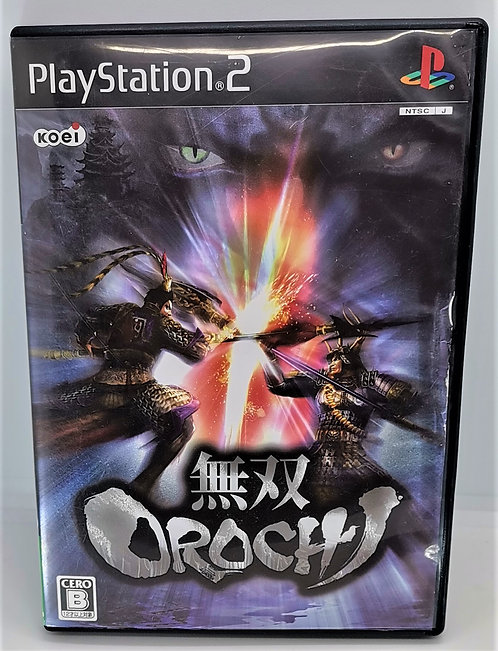 Warriors Orochi for Sony PlayStation 2 PS2