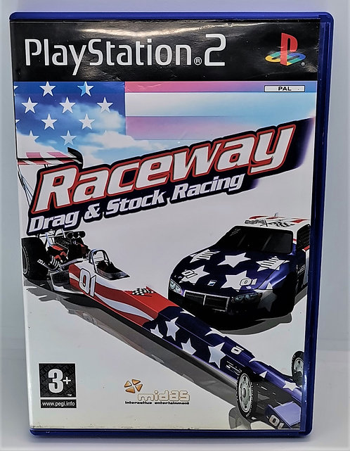 Raceway: Drag & Stock Racing for Sony PlayStation 2 PS2