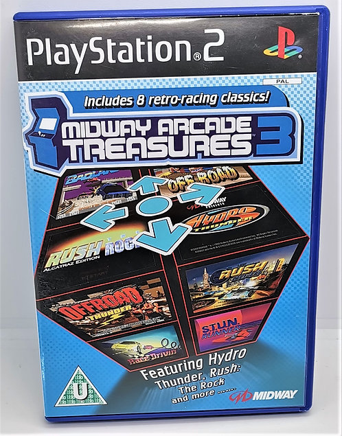Midway Arcade Treasures 3 for Sony PlayStation 2 PS2